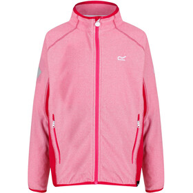 Regatta Pira Jacket Girls Cabaret/Dark Cerise